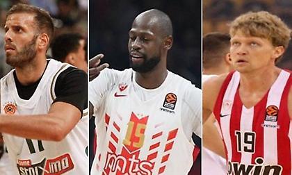 Ευρωλίγκα: Οι Top 10 παίκτες ΧΩΡΙΣ συμμετοχή σε Final Four (πίνακες)
