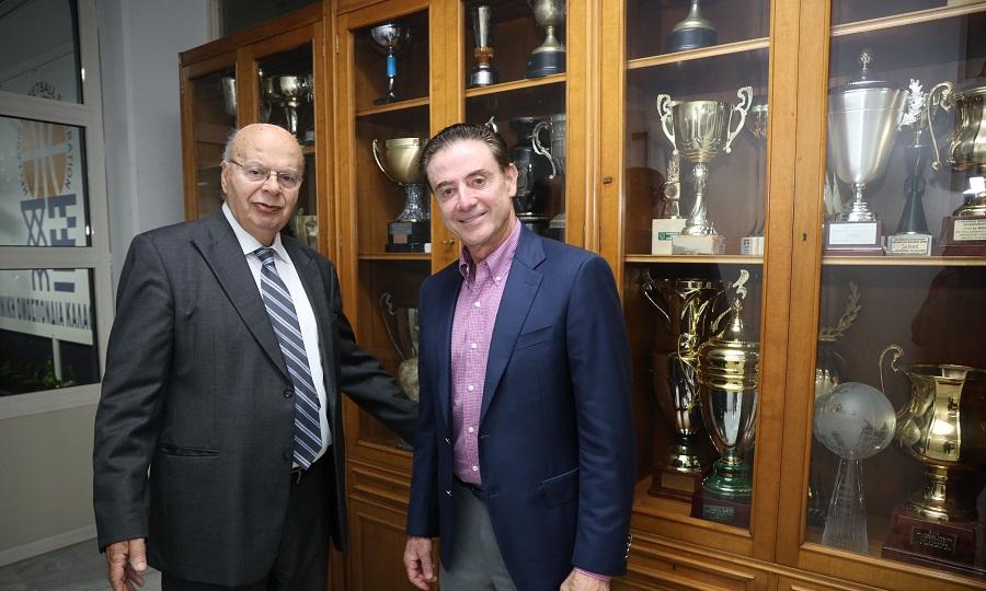 Βασιλακόπουλος: «Με Πιτίνο να πάμε Τόκιο. Η ΕΟΚ δουλεύει για το καλό του μπάσκετ»