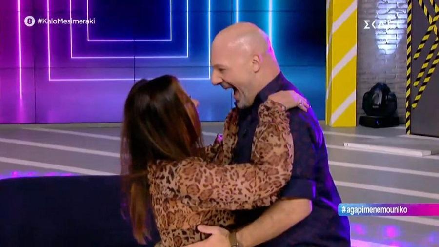 Ο Μουτσινάς χόρεψε το «Fuego» με την Άντζελα Δημητρίου! (video)