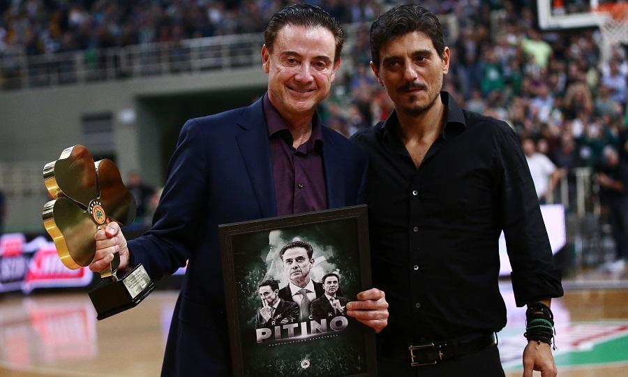Βραβεύτηκε και αποθεώθηκε στο ΟΑΚΑ ο Πιτίνο (pics/video)