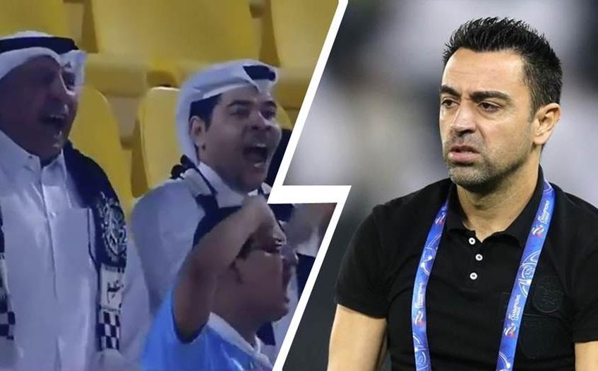 «Κράξιμο» σε Τσάβι, ζητούν την απόλυσή του οι οπαδοί της Αλ Σαντ (video)