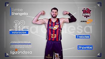 MVP της αγωνιστικής στην Ισπανία ο Σενγκέλια