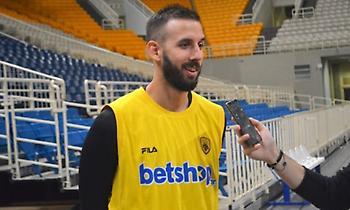 Γιάνκοβιτς: «Να γίνω κομμάτι της ΑΕΚ»