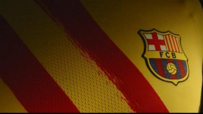 Αφιερωμένη στην Καταλονία η νέα φανέλα της Μπαρτσελόνα (video)