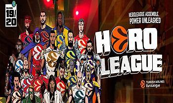 Φανταστικό promo της Euroleague με Τόνι Πάρκερ και παίκτες – σούπερ ήρωες