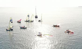 Οι Έλληνες ιστιοπλόοι προηγούνται στις περισσότερες κατηγορίες στο Athens International Sailing Week