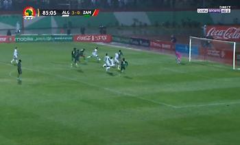 Σκόραρε και με την εθνική Αλγερίας ο Σουντανί (video)