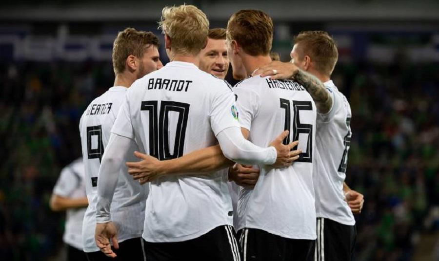 Live: Γερμανία-Λευκορωσία