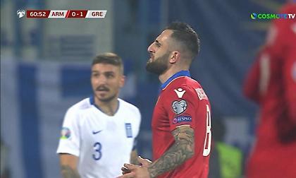 Το γκολ της Αρμενίας που ακυρώθηκε ως οφσάιντ (video)