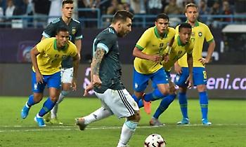 Νίκη με Μέσι για την Αργεντινή κόντρα στη Βραζιλία