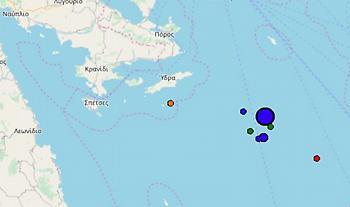 Σεισμός 4,1 Ρίχτερ κοντά στην Ύδρα