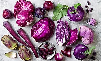 Οι «μαγικές» ιδιότητες των μωβ τροφίμων για την υγεία
