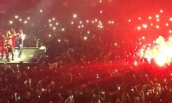 «Πέσιμο» οπαδών της Παρί σε Μαρσεγέζους σε… συναυλία! (videos)