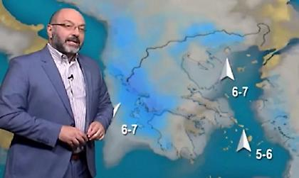 Έντονες βροχές και κακοκαιρία τις επόμενες μέρες – Τι προβλέπει ο Σάκης Αρναούτογλου