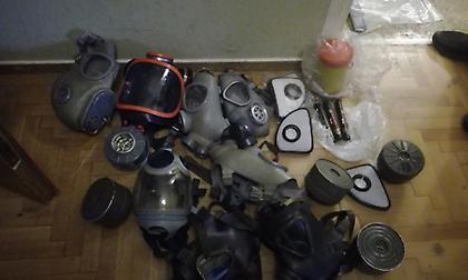 Τα ευρήματα της Αστυνομίας από την επιχείριση στο κτίριο στη Στουρνάρη