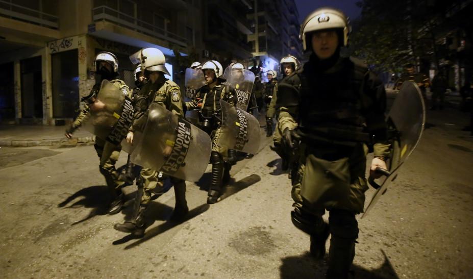 Στο αυτόφωρο οι 28 από τους 32 συλληφθέντες στα Εξάρχεια