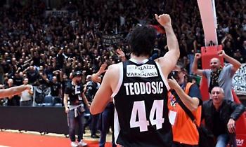 Πολυτιμότερος στη Lega Basket ο Τεόντοσιτς