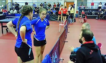 Με 103 τελικές δηλώσεις συμμετοχής το Πανελλήνιο Νέων ανδρών-Νέων γυναικών πινγκ πονγκ