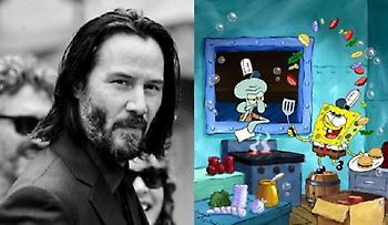 Keanu Reeves: Εμφάνιση έκπληξη στη νέα ταινία του Μπομπ Σφουγγαράκη