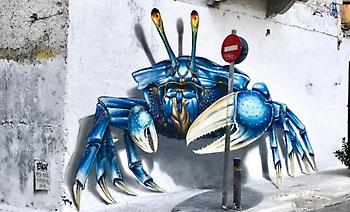 Etien: Ένα εντυπωσιακό έργο τέχνης «ζωντάνεψε» στην περιοχή του Μεταξουργείου