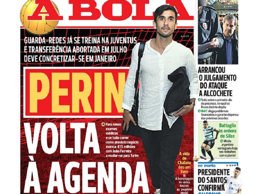 Διάψευση για Περίν και φουλ επίθεση της Μπενφίκα στην «A Bola»!