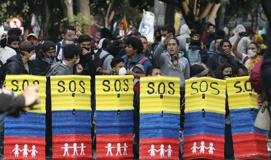 Κλείνει τα σύνορα η Κολομβία έως την Παρασκευή ενόψει κινητοποιήσεων