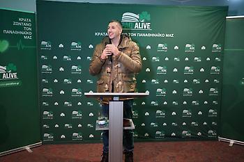 Συγκίνηση με Αλβέρτη-Διαμαντίδη για το PAO ALIVE στο Μόναχο