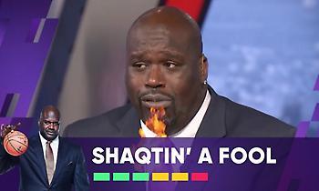 Αντετοκούνμπο, Γουέστμπρουκ, Βαλανσιούνας και Στίβενσον στο Shaqtin' A Fool της εβδομάδας (video)