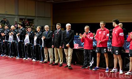 Το σύστημα διεξαγωγής στο Παγκόσμιο Προολυμπιακό τουρνουά ομαδικού πινγκ πονγκ