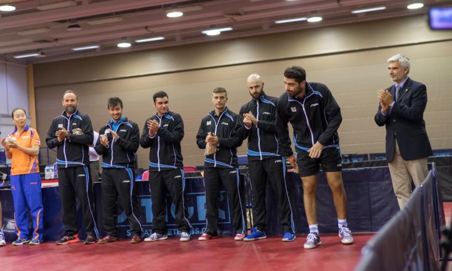Μόνο με την Εθνική ανδρών το ελληνικό πινγκ πονγκ στο Παγκόσμιο Προολυμπιακό τουρνουά ομαδικού