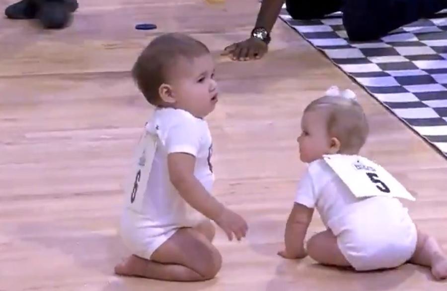 Οι... μωροδρομίες του ΝΒΑ με μεγάλο σασπένς και απρόσμενο φινάλε (video)