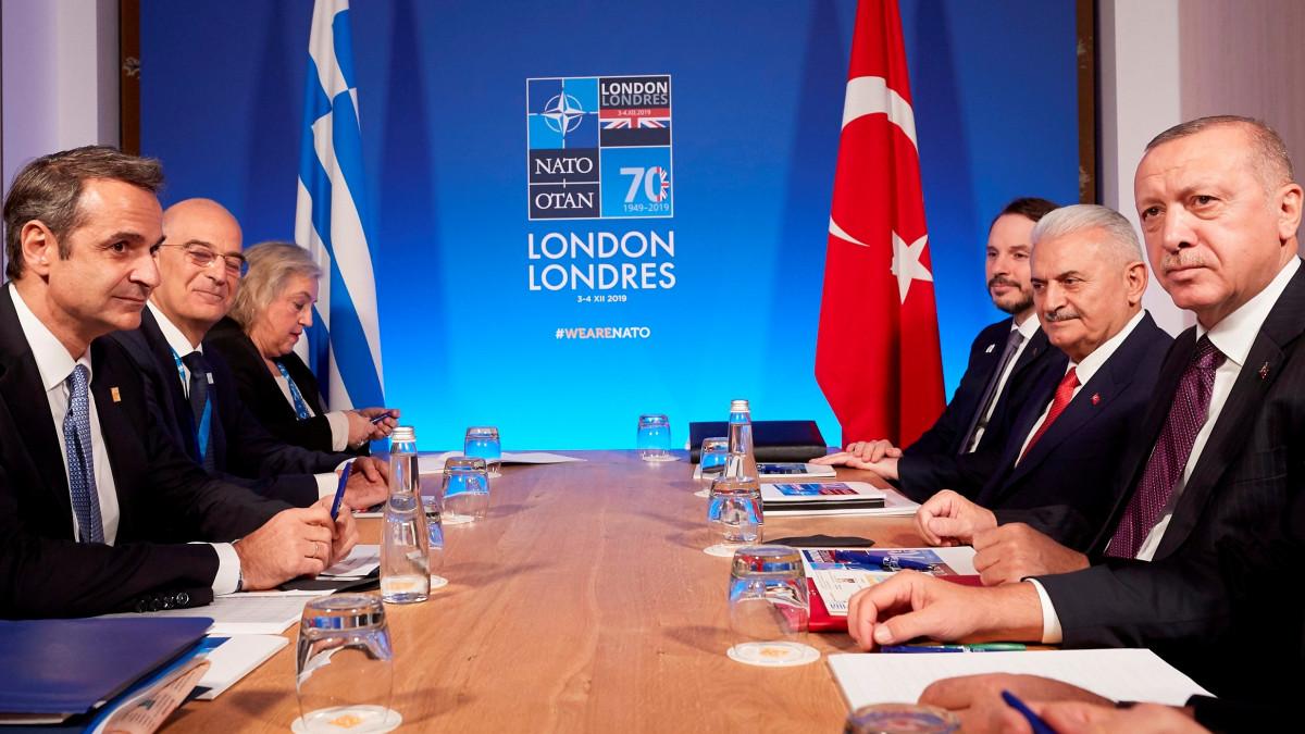Μητσοτάκης προς Ερντογάν: Νομικά άκυρο το τουρκολιβυκό μνημόνιο