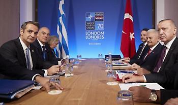ΝΑΤΟ: Ο απολογισμός της συνάντησης Μητσοτάκη - Ερντογάν