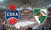 Live: ΤΣΣΚΑ Μόσχας-Ζαλγκίρις Κάουνας