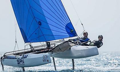 Δυσκολεύει η αποστολή των δύο ελληνικών σκαφών Νacra 17 για την πρόκριση στους Ολυμπιακούς