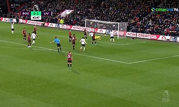 «Χτύπησε» o Κεϊτά και 2-0 η Λίβερπουλ στο ημίχρονο (video)