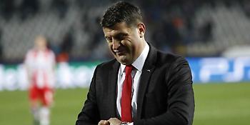 Μιλόγεβιτς: «Θέλουμε να παίξουμε όσο καλύτερα γίνεται με τον Ολυμπιακό»