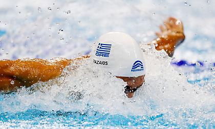 Απίθανος Βαζαίος: Τρίτο μετάλλιο, δεύτερο χρυσό στη Γλασκώβη!