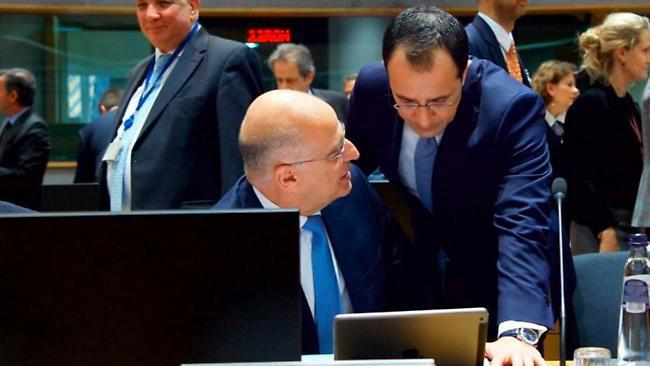 Δένδιας: Ζήτησα καταδίκη και πλαίσιο κυρώσεων από την Ε.Ε.-Βρήκα ευρύτατη στήριξη