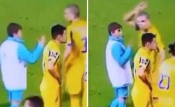 Τραγικός Πέπε: Δεν έδωσε το χέρι του σε ball boy (video)