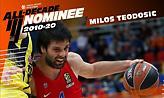 Υποψήφιος για την κορυφαία ομάδα της δεκαετίας ο Τεόντοσιτς