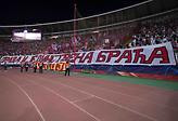 Το καλωσόρισμα των οπαδών του Ολυμπιακού στον Ερυθρό Αστέρα (pic)