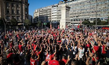 Αλλαγή πλάνων για την κοινή πορεία οπαδών Ολυμπιακού – Ερυθρού Αστέρα!