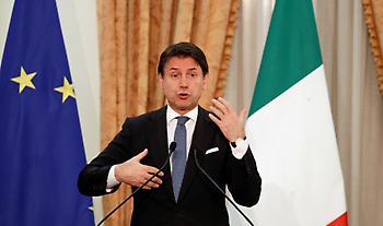 Η Ιταλία στηρίζει Ελλάδα και Κύπρο: Τι είπε ο Κόντε για το μνημόνιο Τουρκίας - Λιβύης