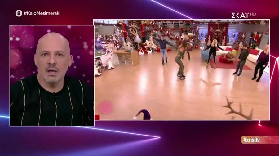 Καλό Μεσημεράκι: Το σχόλιο του Μουτσινά για το αποκαλυπτικό ατύχημα της Σκορδά
