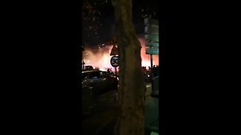 Επεισόδια στο Παρίσι ανάμεσα σε οπαδούς της Παρί και της Γαλατά (video)