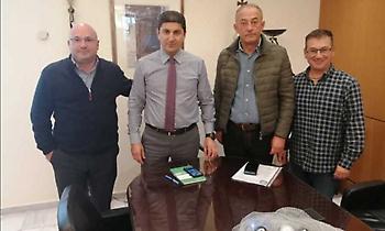 Συνάντηση ΟΧΕ-Αυγενάκη