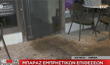 Μπαράζ εμπρηστικών επιθέσεων τα ξημερώματα σε περιοχές της Αθήνας