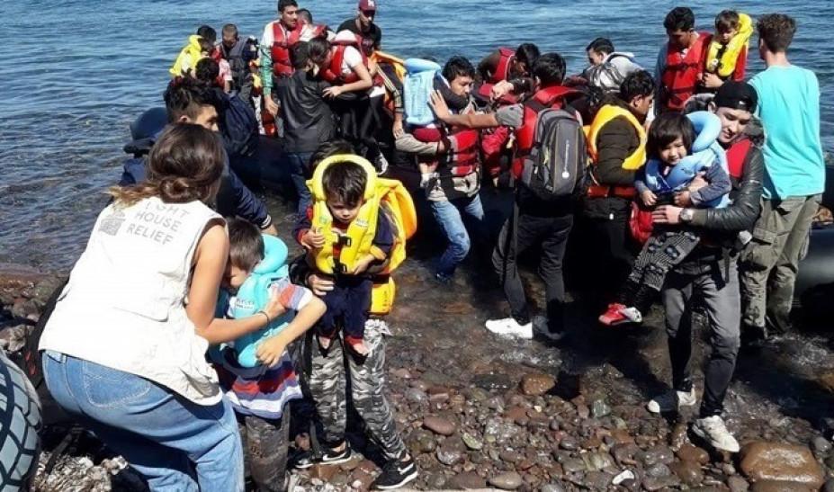 Στους 227 οι μετανάστες και πρόσφυγες που έφτασαν στην Ελλάδα το τελευταίο 24ωρο