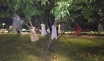 Έδεσσα: Μπουφάν κρεμασμένα στα δέντρα για να μη μείνει κανείς μόνος στους κρύους μήνες του χειμώνα